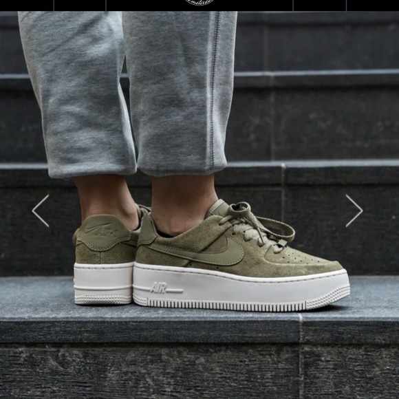 3412ed541 Nike Shoes | Nwt Airforce 1 Sage Low | Poshmark